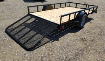 2021 Load Trail 12' Flatbed Utility Trailers full
